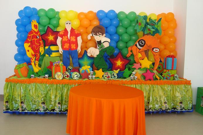 Decoracion de ben 10 decoraci n for Decoracion de cuartos infantiles