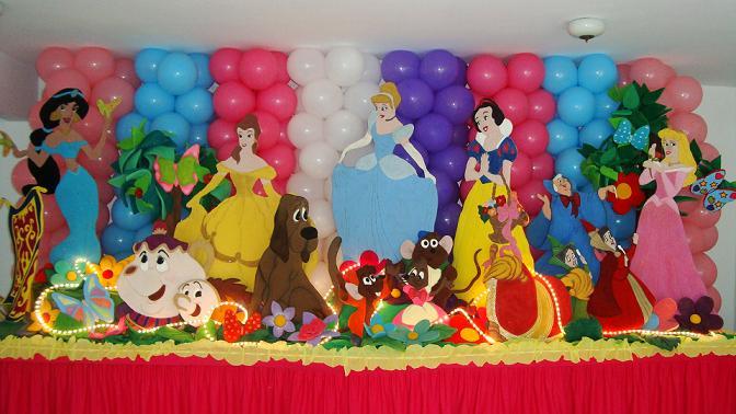 ... de dormitorios y fiestas infantiles » decoracion-de-princesas