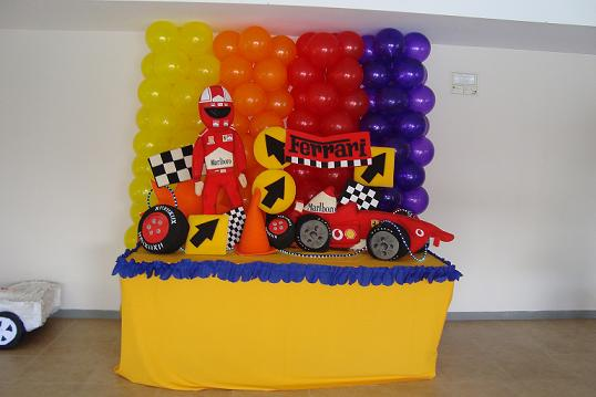 Decoracion formula uno decoraci n for Decoracion de cuartos infantiles